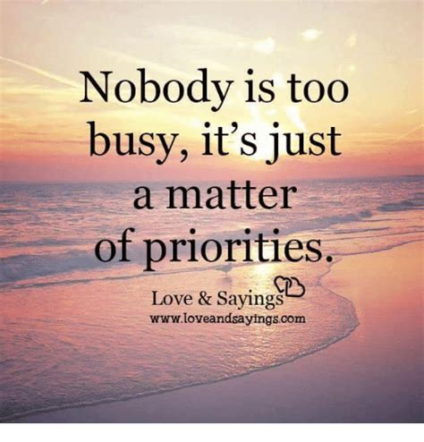 Its Just A Crush by Nobody Is Busy It S Just A Matter Of Priorities