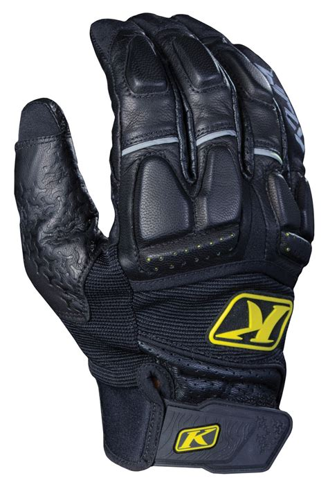klim motocross gear klim adventure glove black jpg