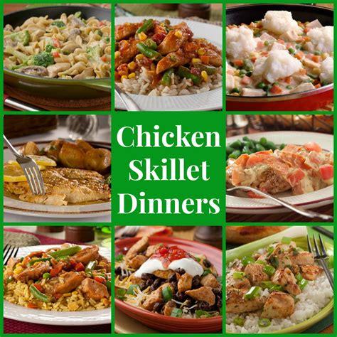 stovetop recipes 14 chicken skillet dinners mrfood com
