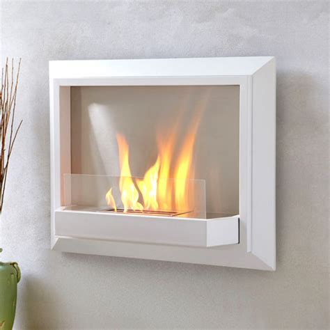envision wall fireplace white real touch of
