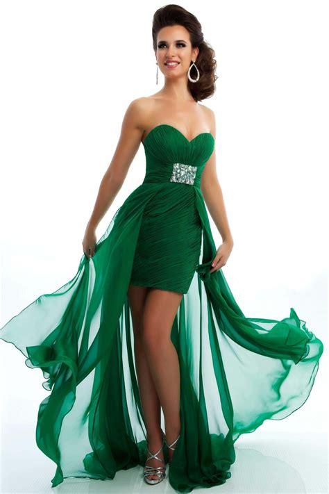 imagenes de vestidos verdes cortos vestidos elegantes verdes 5