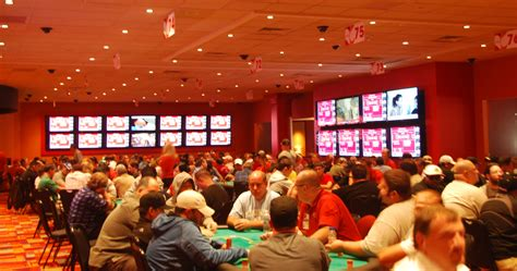 pennsylvania poker rooms scoop  million  revenue