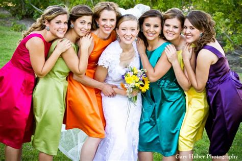 multi colored bridesmaid dresses discover and save creative ideas