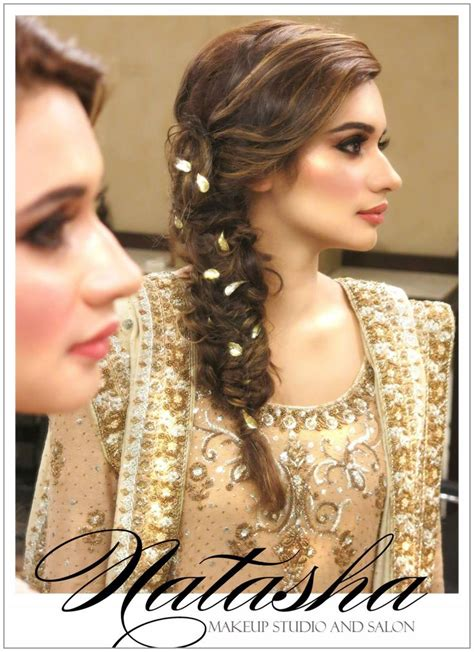 pic braids styles pakistani and indin pakistani bridal makeup muslim wedding nikah
