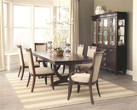 formal dining set coaster furniture 9 pc alyssa formal dining set