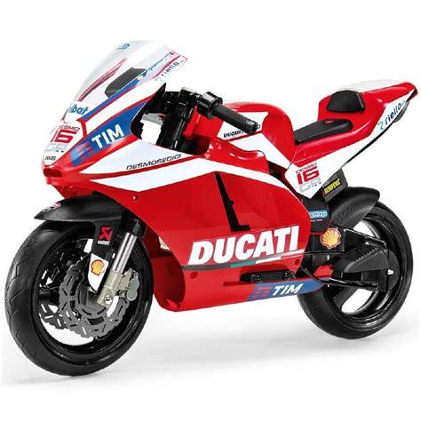 Kinder Motorrad Feber by Moto Elettrica Ducati Gp 12v Peg Perego Toys Igmc0020