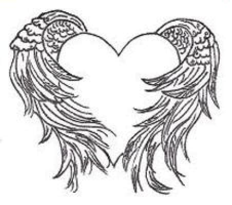 wings tattoos page 37 heart with angel wings tattoo heart with wings tattoo