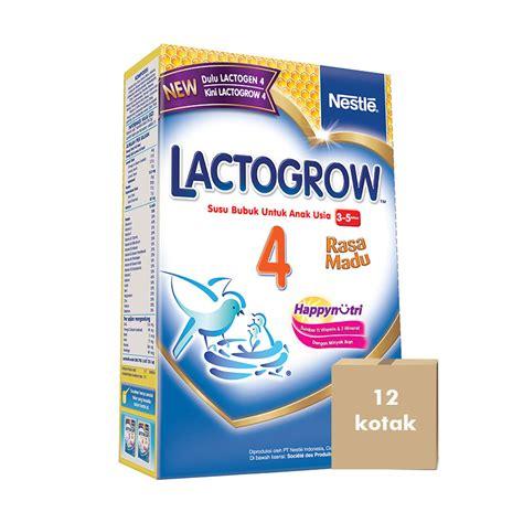 Lactogrow 3 Madu Plain 750gr jual lactogrow 4 750gr madu karton 12 kotak prosehat