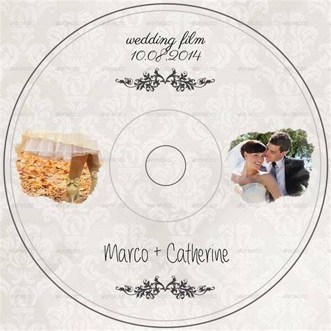 Wedding Dvd by Wedding Dvd Cover By Comforto Graphicriver