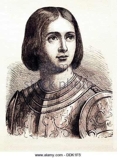 page boy cut joan of arc saint joan arc stock photos saint joan arc stock images