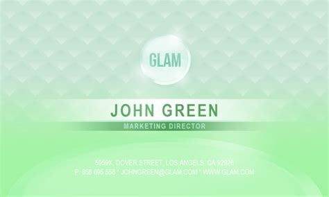 green id card design background green card background psd design free vector graphic