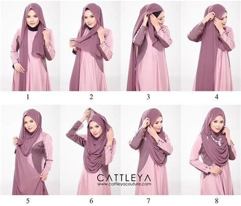 Catleya Syari this is a modest and beautiful chest coverage