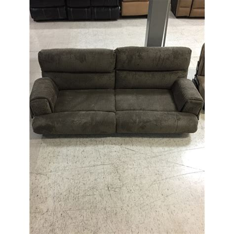 rv flip sofa taupe cloth flip sofa rv boat parts