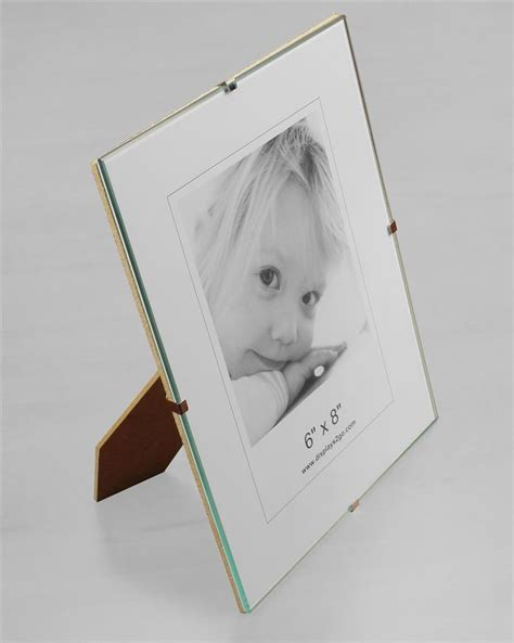 frameless 5 x 7 clip picture frame tempered glass the 25 best frameless picture frames ideas on pinterest