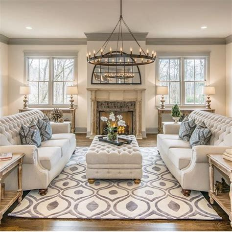 nicely decorated living rooms