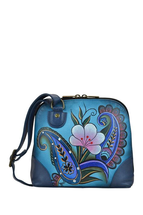 Organizr anna by anuschka hand painted leather small multi