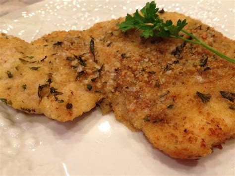 baked turkey cutlet parmesan recipe chicken