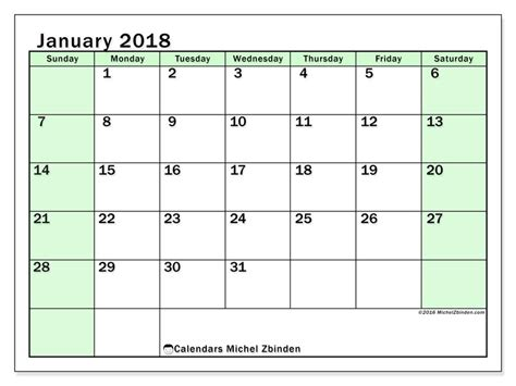 January 1 2018 Calendar Calendar To Print January 2018 Nereus 1 Australia