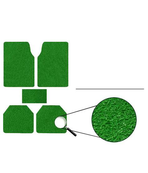 Set Ananti Green speedwav anti slip noodle car floor mats set of 5 green buy speedwav anti slip noodle car