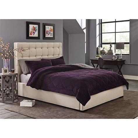 velvet bedding sets cannon silky velvet comforter set home bed bath