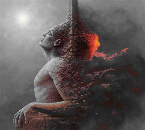 mesmerizing photos 15 blind artist george redhawk creates mesmerizing gifs