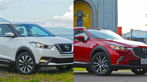 nissan mazda frenteafrente nissan kicks vs mazda cx 3 dos suv light