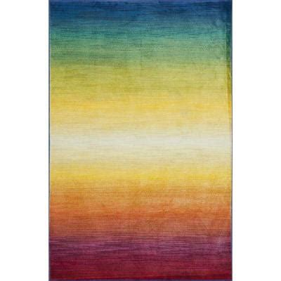loloi rugs lyon lifestyle collection tropical island 2 ft loloi rugs lyon lifestyle collection rainbow 5 ft 2 in x