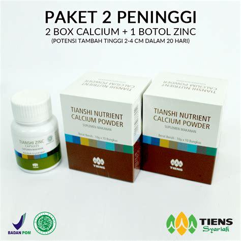 Obat Peninggi Badan Nutrient Calcium Powder Distributor Resmi Agen Tiens Di Depok Agentiens