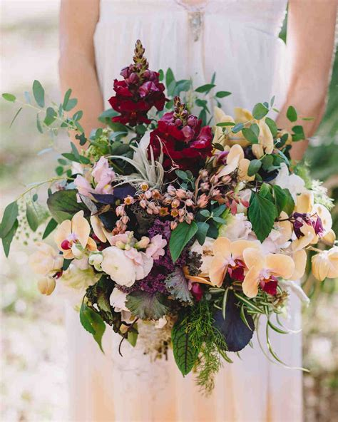 16 Impressive Orchid Wedding Bouquets   Martha Stewart