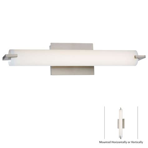 Kovacs L by Kovacs P5044 084 L Brushed Nickel 1 Light Led Wall Sconce In Brushed Nickel From The