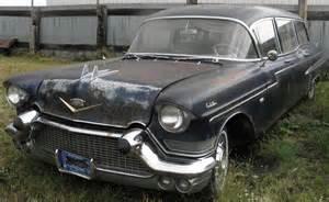 1957 Cadillac Hearse 1957 Cadillac Fleetwood 75 Miller Meteor 5 Door Commercial