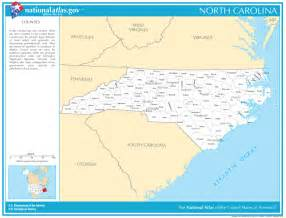 carolina state maps interactive carolina