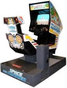 Blast Cabinet Gun Space Harrier Videogame By Sega