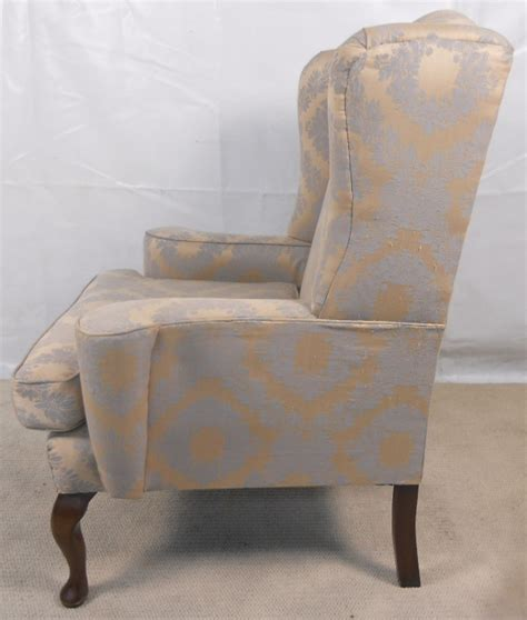 queen anne armchair uk queen anne style wing armchair
