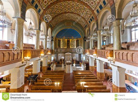 Interior Of A Synagogue by Synagogue Interior Stock Photo Image 27950270