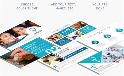 keynote brochure template 8 spectacular charity brochure templates to promote social