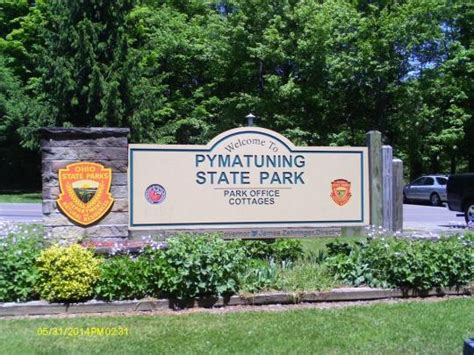 pymatuning state park cottages cing at pymatuning state park oh