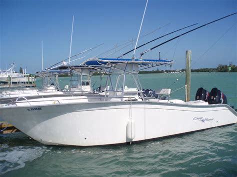 florida vacation rental with boat cape horn rental boats