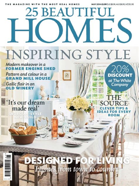 homes magazine 25 beautiful homes magazine discount subscription