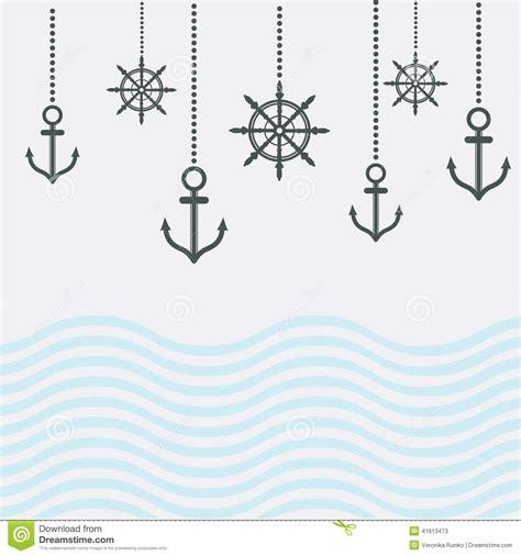 design nautical template stock illustration image of