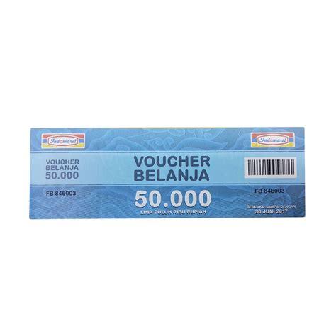 Indomaret Voucher Rp 500 000 jual fdr indomaret paket belanja physic voucher rp 500
