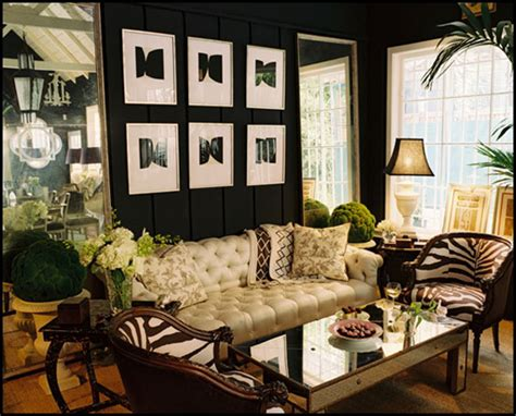 African Safari Home Decor by Color Roundup Using Black In Interior Design The