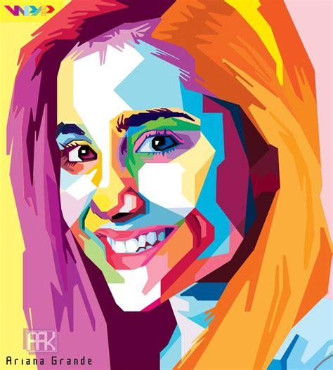 tutorial wpap sketchbook ariana grande in wpap my girlfriend and so beautiful 3