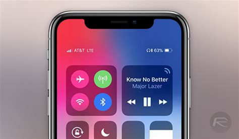 check iphone x battery percentage in status bar here s how redmond pie