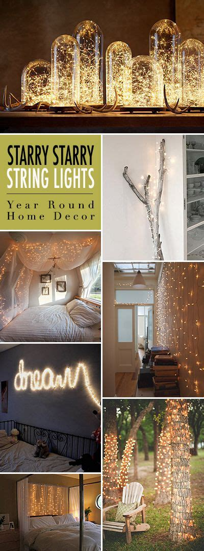 year home decor using lights or firefly