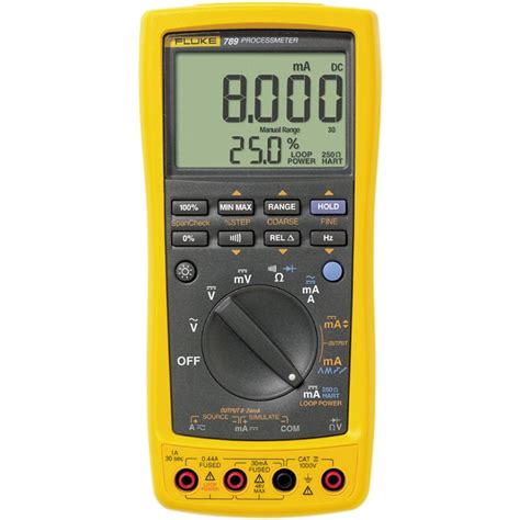 Multimeter Fluke 789 fluke 789 process meter loop calibrator plus multimeter