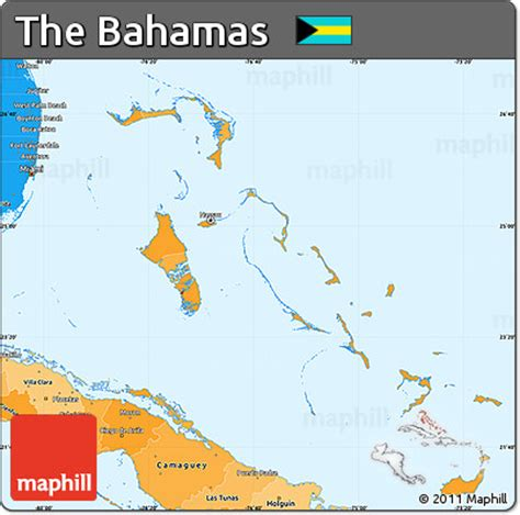 political map of bahamas free political shades simple map of the bahamas