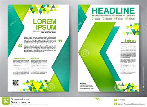 brochure design a4 template stock vector image 51436248