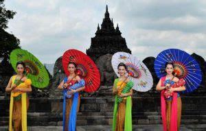Payung Tari Brukat Hias Tradisional 12 tarian tradisional dari jawa tengah yang sangat populer seni budaya