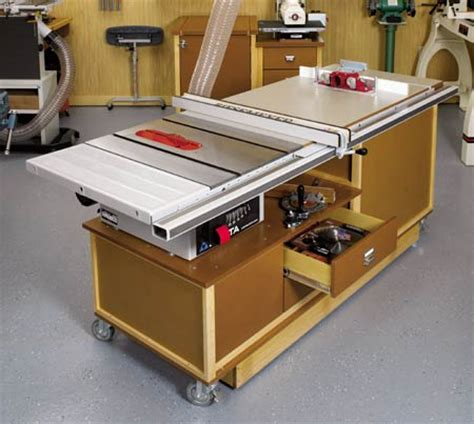 idea shop 5 tablesaw routing center